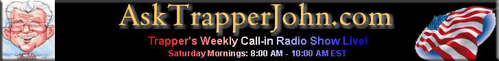 Ask Trapper Call-in Show Banner
